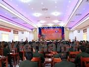 Celebran encuentro de militares laosianos graduados en Vietnam