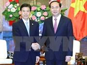 Vietnam quiere ampliar nexos comerciales con China, dice presidente
