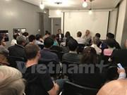 Efectúan seminario y proyección de documental sobre Mar del Este en París