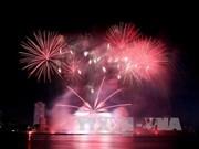 Sobresale participación de Japón y Suiza en Festival de Pirotecnia en Da Nang