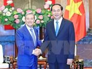 Presidente vietnamita optimista sobre cooperación comercial con Canadá