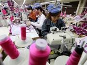 Registran crecimiento de exportaciones textiles de Vietnam