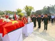 Repatrian restos de mártires vietnamitas caídos en Laos