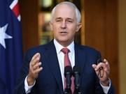Primer ministro australiano será orador principal en Diálogo Shangri-La