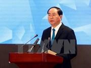 Presidente de Vietnam exhorta a reforzar lucha contra desastres naturales