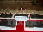 Exponen xilografías vietnamitas reconocidas como patrimonios documentales regionales