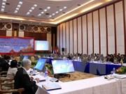Altos funcionarios de ASEAN debaten medidas para combatir crímenes transnacionales