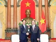Presidente vietnamita insta a mayores nexos entre VNA y Xinhua