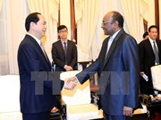 Presidente de Vietnam destaca potencialidad de cooperación con Sudán