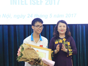 Vietnam gana la tercera posición en Concurso científico-técnico Intel Isef 2017