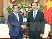 Presidente Dai Quang: Vietnam atesora asociación estratégica con Sudcorea
