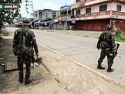 Presidente Duterte exhorta al diálogo con grupo insurgente en Marawi