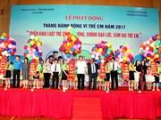 Lanzan en Vietnam mes de acción por la infancia