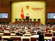 Asamblea Nacional de Vietnam analiza leyes de denuncias y gestión de bienes públicos