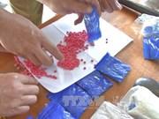 Decomisan gran cantidad de drogas en frontera entre Vietnam y Laos