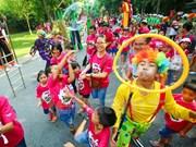 Celebran festival infantil ASEAN+ en Vietnam