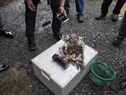 Encuentran bomba cerca de estación de metro en Bangkok