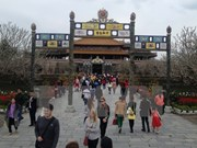 Thua Thien-Hue goza de aumento de turistas