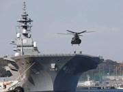Barcos japoneses visitan Filipinas