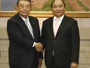 Premier Xuan Phuc destaca cooperación interparlamentaria Vietnam-Japón