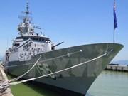 Buque australiano HMAS Ballarat visita Da Nang