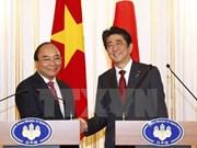 Prensa nipona destaca encuentro entre premieres de Japón y Vietnam