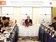 Premier vietnamita dialoga con empresas de Kansai