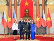 Vietnam y República Checa ratifican voluntad de profundizar lazos bilaterales