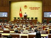 Parlamento vietnamita aprueba programa de elaboración jurídica para 2018