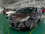 Venta de automóviles en Vietnam repuntan en mayo