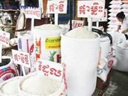 Exportación arrocera de Camboya alcanza récord
