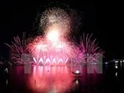 Festival de fuegos artificiales Da Nang 2017 culminará con espectáculos extraordinarios