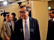 Camboya levanta orden de prohibición de regreso de líder opositor