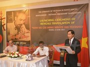 Presentan en Dacca edición en bengalí de libro sobre Ho Chi Minh