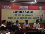 Vietnam será sede del Campeonato de clubes de voleibol de Asia
