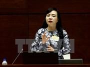 Asamblea Nacional de Vietnam debate sobre servicios de salud pública