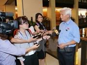 Diputados vietnamitas evalúan de necesario procedimiento legal sobre caso de arresto ilegal en Dong Tam
