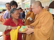 Intensifican papel del budismo en actividades sociales y caritativas en Vietnam