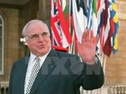 Vietnam lamenta fallecimiento de excanciller alemán Helmut Kohl
