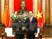 Presidente Dai Quang destaca buen estado de nexos Vietnam-China