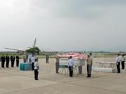 Repatrían restos de militares estadounidenses desaparecidos durante la guerra en Vietnam