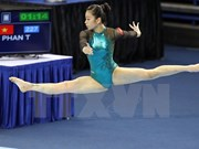 Gimnasta vietnamita gana oro en torneo Abierto de Singapur