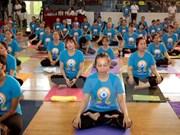 Celebran en Tailandia Día Internacional del Yoga
