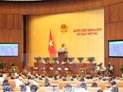 Parlamento vietnamita aprueba resolución sobre balance presupuestario