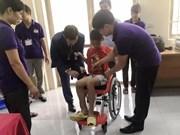 Embajada de Israel dona sillas de ruedas a niños discapacitados en Vietnam