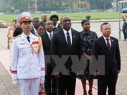 Presidente de Senado haitiano concluye visita a Vietnam