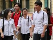 Más de 866 mil bachilleres vietnamitas inician exámenes de graduación