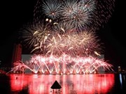 Concluye en Vietnam festival internacional de fuegos artificiales