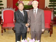 Máximo dirigente partidista de Vietnam resalta amistad con Camboya