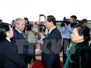 Presidente de Vietnam inicia visita oficial a Belarús